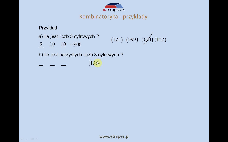 Lekcja 1 – Elementy kombinatoryki