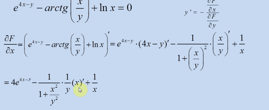 Lekcja 7 – Funkcje uwikłane