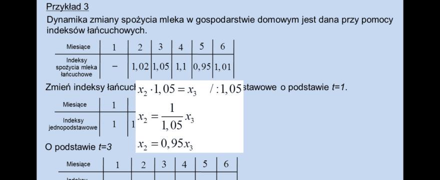 Lekcja 7 – Analiza dynamiki zjawisk