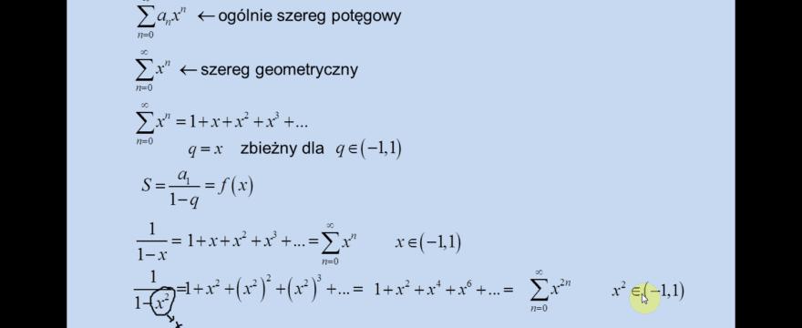Lekcja 7 – Szeregi funkcyjne. Wybrane elementy.