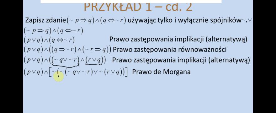 Lekcja 12 – Schematy wnioskowania