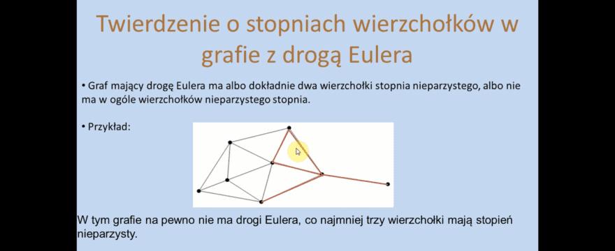 Lekcja 26 – Droga i cykl Eulera