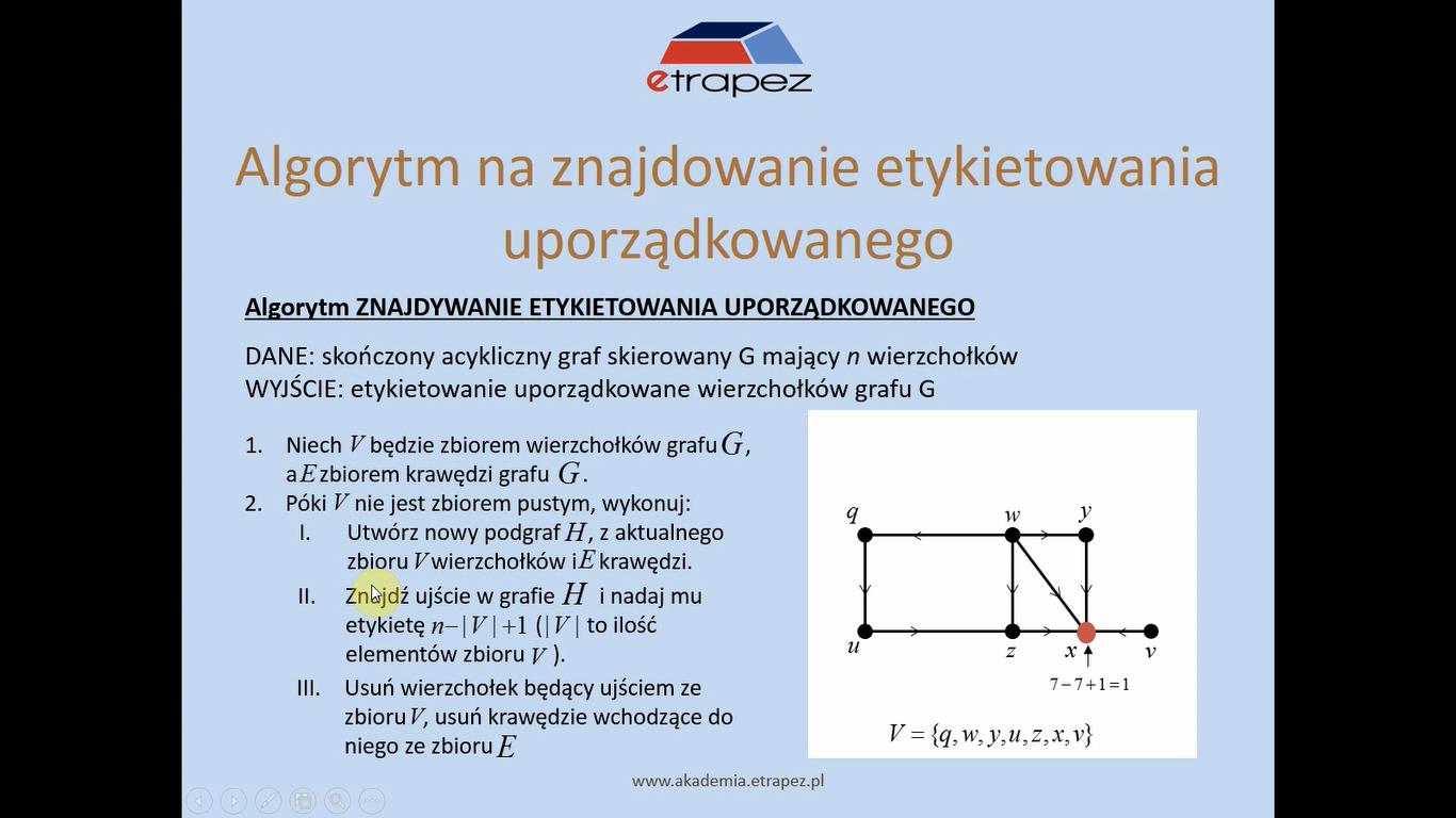 Lekcja 31 – Grafy skierowane