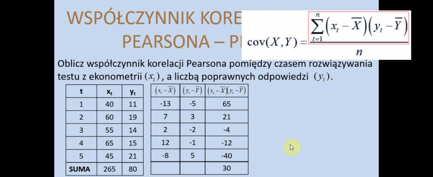 Lekcja 2 – Dobór zmiennych objaśniających. Metoda Hellwiga.