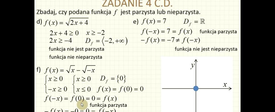 Lekcja 1R – Definicja i własności funkcji