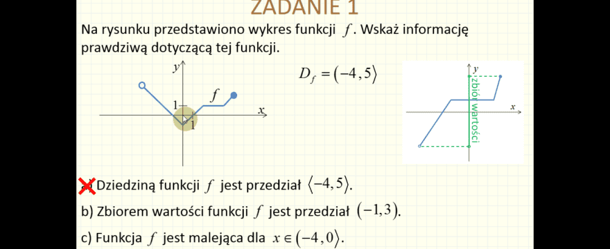 Lekcja 6P – Funkcje – Zadania maturalne